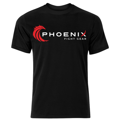 Men's Phoenix Logo Tee - Black
