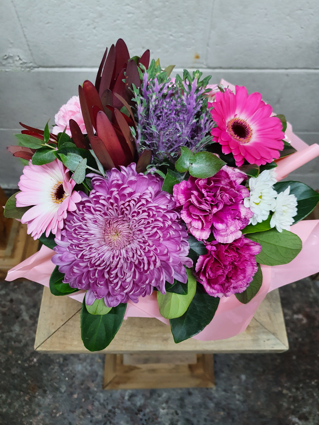 #2#  POSY BOXES FLORIST CHOICE