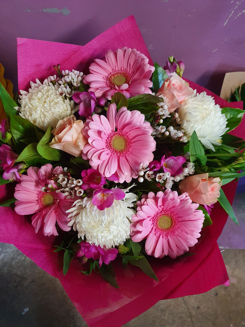 #B11# PRETTY IN PINK  FLORIST CHOICE