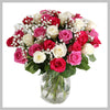 24 RED ROSES IN SHEATH