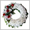 MIXED MED ROUND WREATH