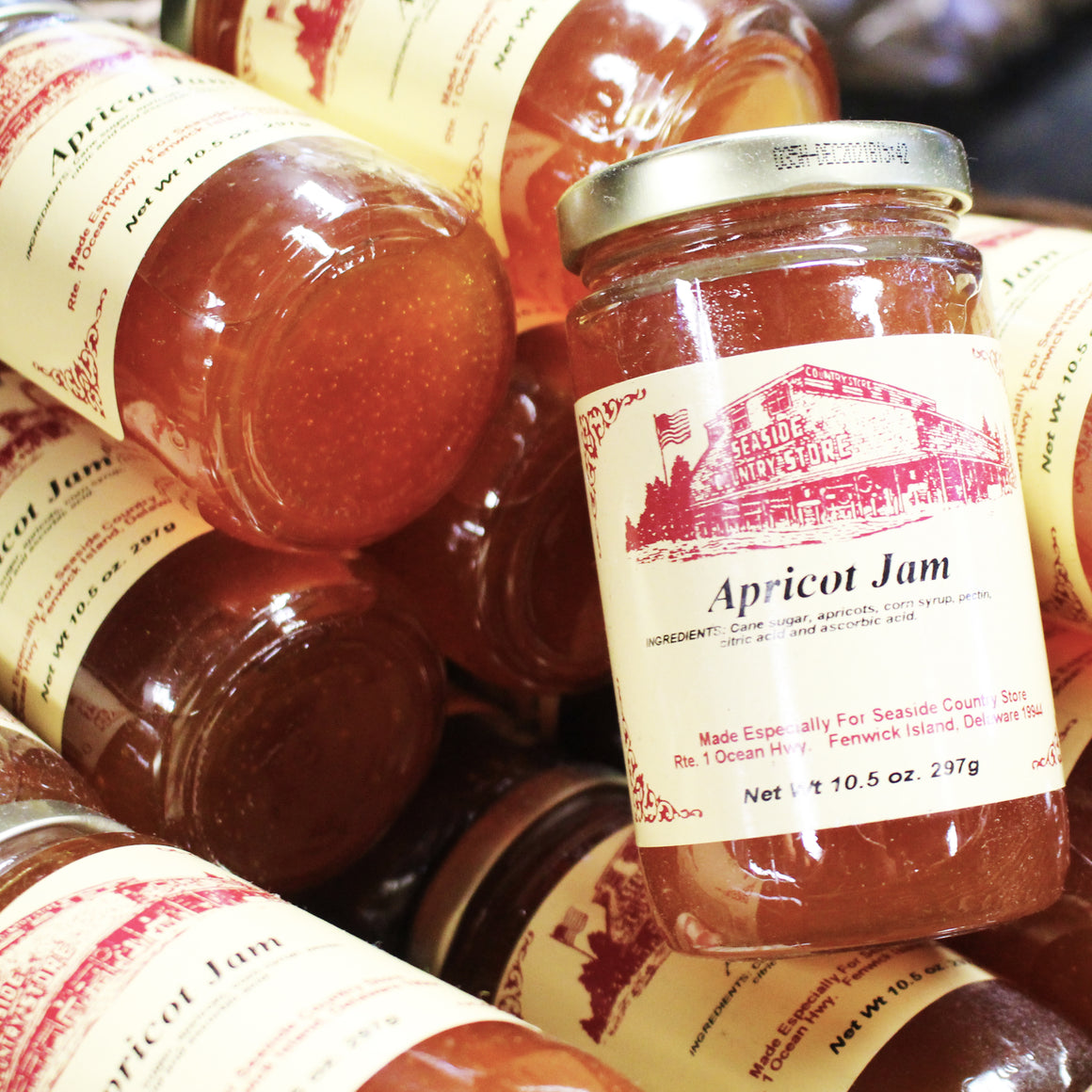 Seaside Country Store Labeled Jellies/Preserves