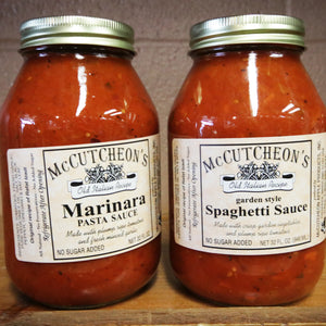 McCutcheon's Marinara and Spaghetti Sauces