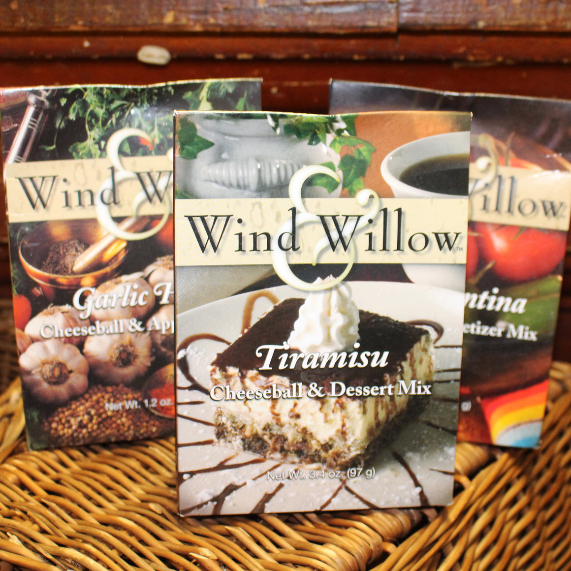 Wind and Willow Cheeseball Mixes