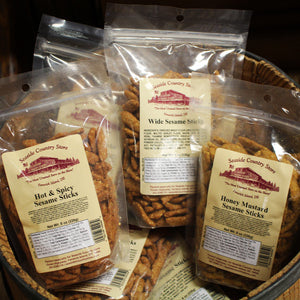 Seaside Country Store Label Snack Mixes