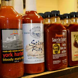 Seaside Country Store Barbeque Sauces, Hot Sauces, Steak Sauces