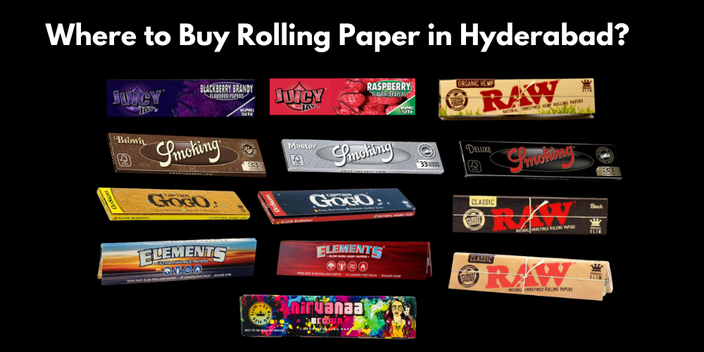 Where to Buy Rolling Papers in Hyderabad?