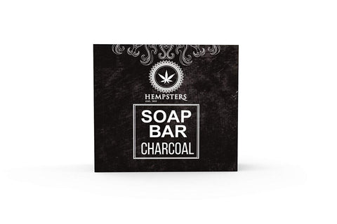 Hempsters Soap Bar - Charcoal and Hemp