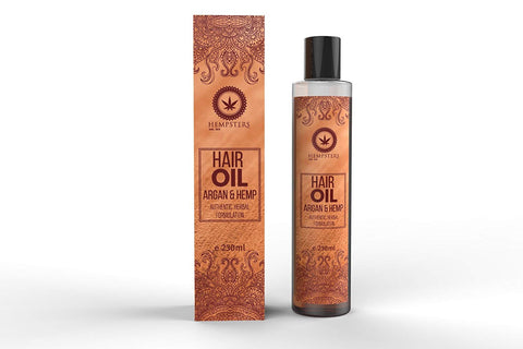 Hempsters Hair Oil - Argan and Hemp