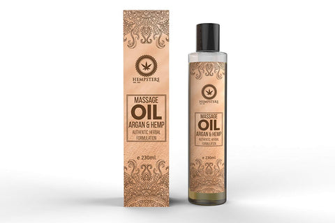 Hempsters Massage Oil - Argan and Hemp