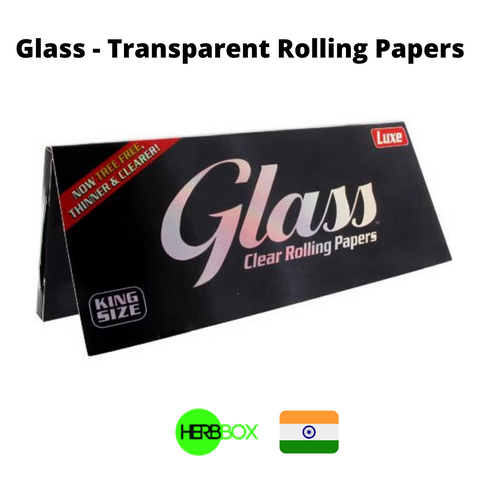 Glass Transparent Rolling Papers in India