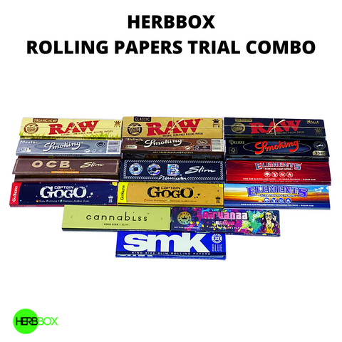 HERBBOX Rolling Papers Trial Combo Pack