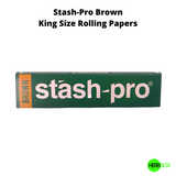 Stash-Pro Brown Rolling Papers