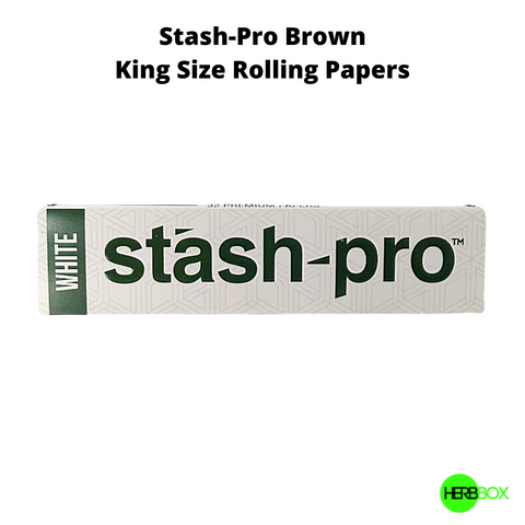 Stash-Pro White Rolling Papers