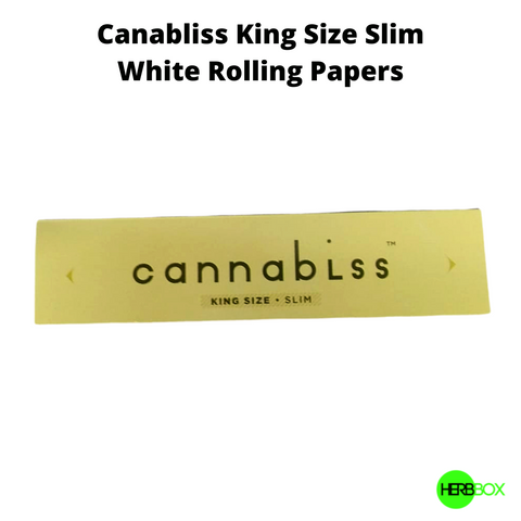 Canabliss King Size Rolling Papers in India