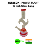 HERBBOX Power Plant 13 Inch Glass Bong Online in India