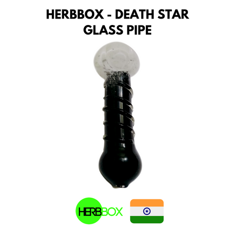 HERBBOX - Death Star Glass Pipe