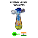 HERBBOX - Peace Glass Pipe