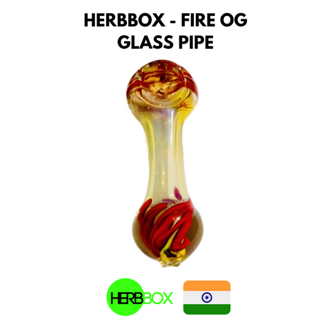HERBBOX - Fire OG Glass Pipe