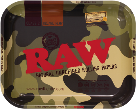 RAW CAMO ROLLING TRAY LARGE ON HERBBOX INDIA