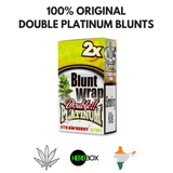DOUBLE PLATINUM STRAWBERRY KIWI BLUNT WRAPS (RED)