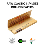 RAW Classic 1 1/4th Size Rolling Papers Online in India