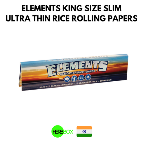 Elements Rice Rolling Papers