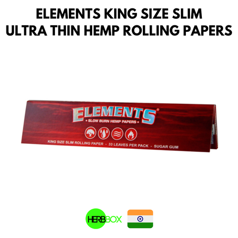 Elements Hemp Rolling Papers