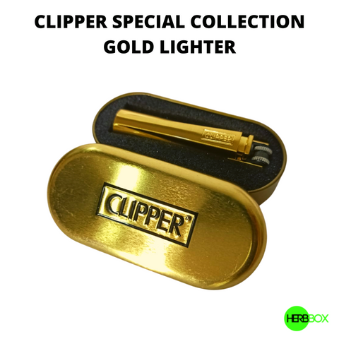 CLIPPER Special Edition - Gold Lighter