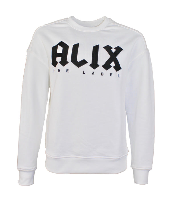 Alix the Label collegetröja alix broderi