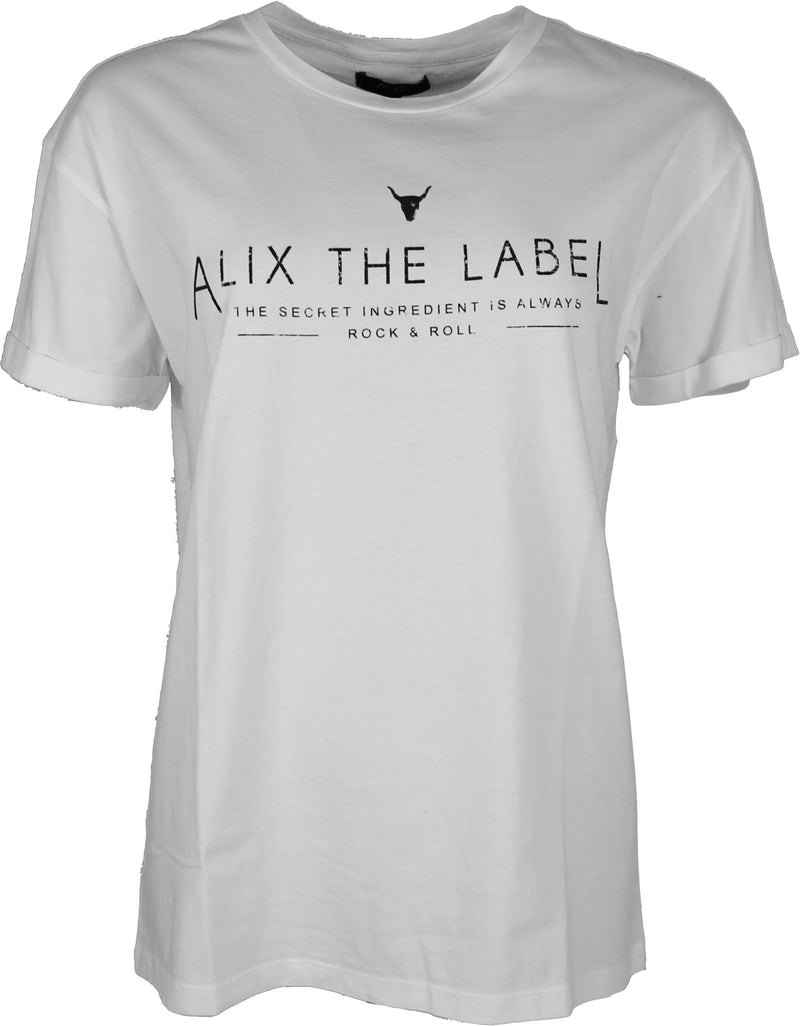 Alix the Label T-shirt med Alix tryck