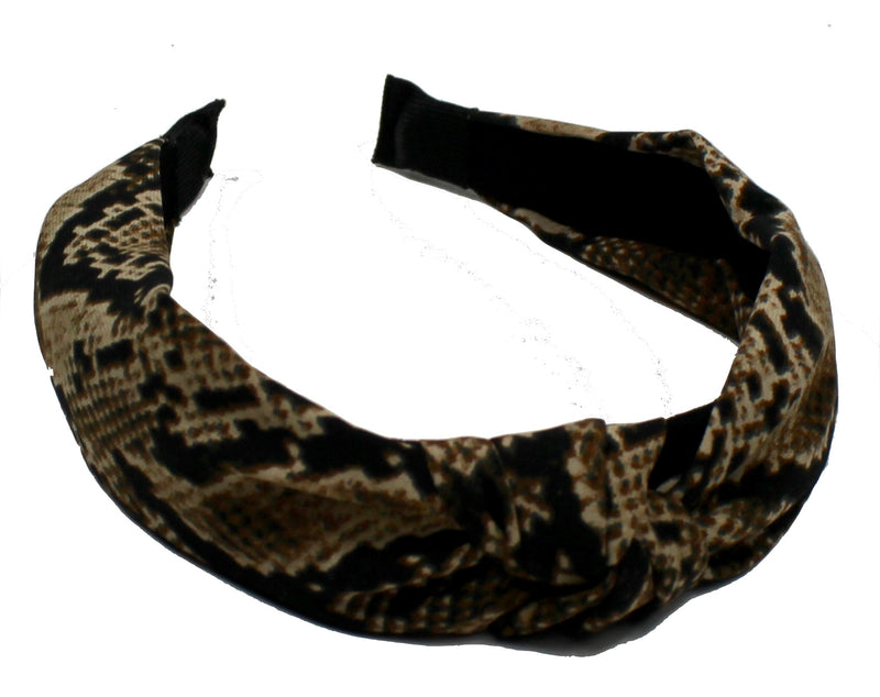 Black colour diadem orm print