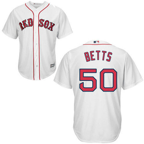 Mookie Betts Red Sox Baseball Jersey