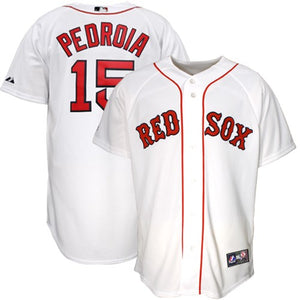 Dustin Pedroia Red Sox Baseball Jersey