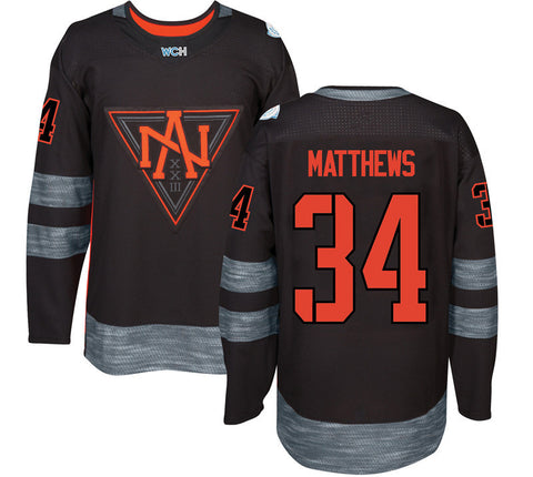 Team North America Hockey Jerseys.