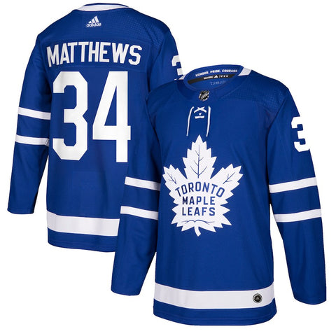 Auston Matthews Leafs Hockey Jersey