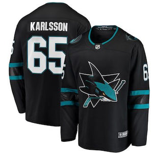 Erik Karlsson Sharks Hockey Jersey