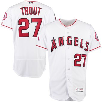 Mike Trout Angels Baseball Jersey