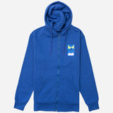 Framed Zip Hoodie Blueberry - Friend or Faux US