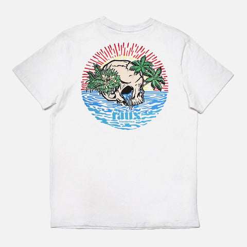 Castaway White T-shirt - Friend or Faux US
