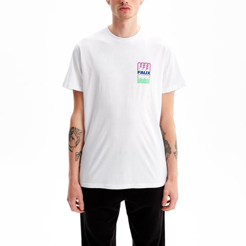 Electrostatic T-Shirt White