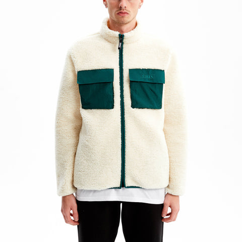 *COMING SOON* - Hakuba Sherpa Fleece Jacket Off White