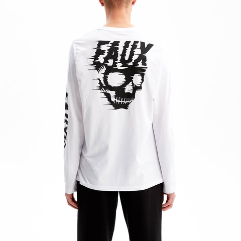 Speed Kills Long Sleeve T-Shirt White