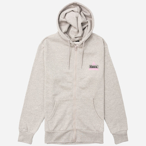 Ambush Zip Hoodie Grey Marl - Friend or Faux US