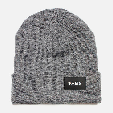 Senjo Grey Beanie - Friend or Faux US