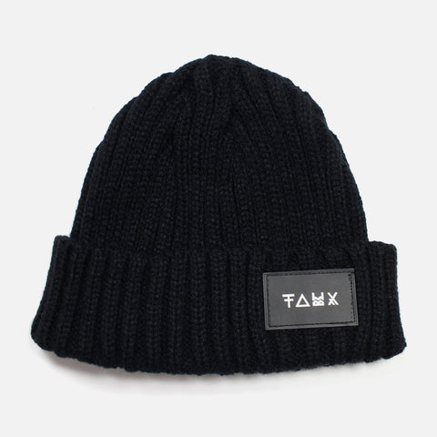 Nasu Black Beanie - Friend or Faux US