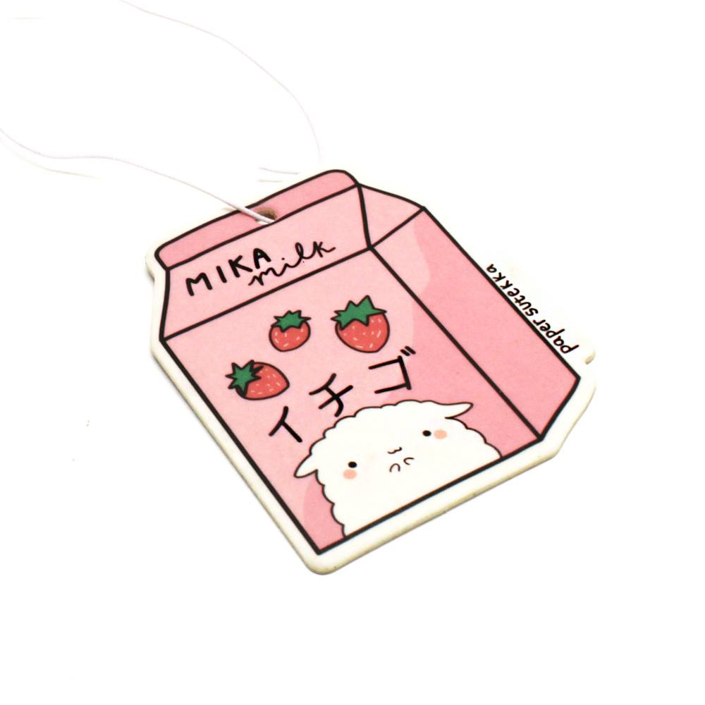 Mika Strawberry Milk Air Freshener