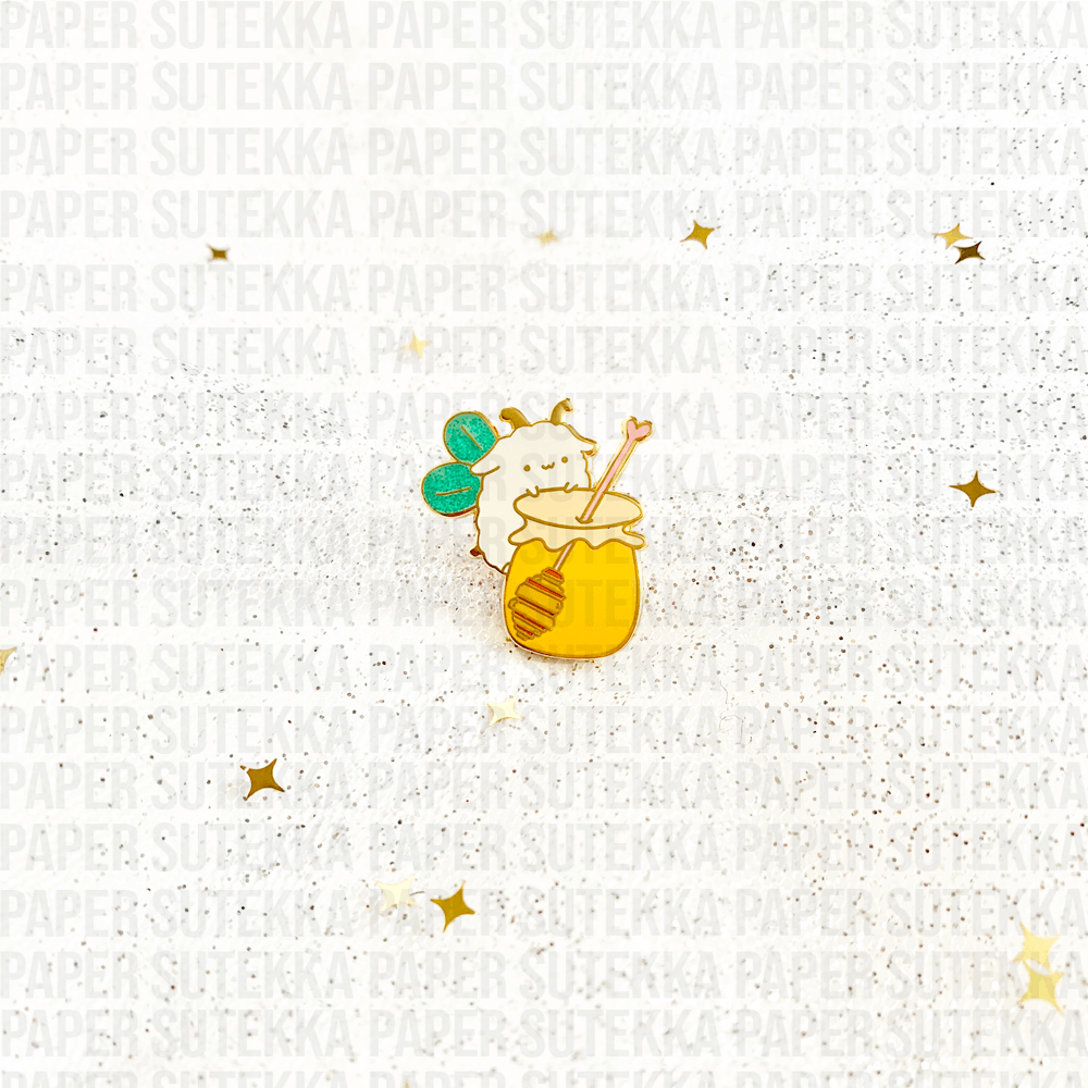 Mika Honey Bee Enamel Pin