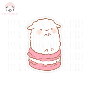 Load image into Gallery viewer, Mika Macaron Vinyl Sticker