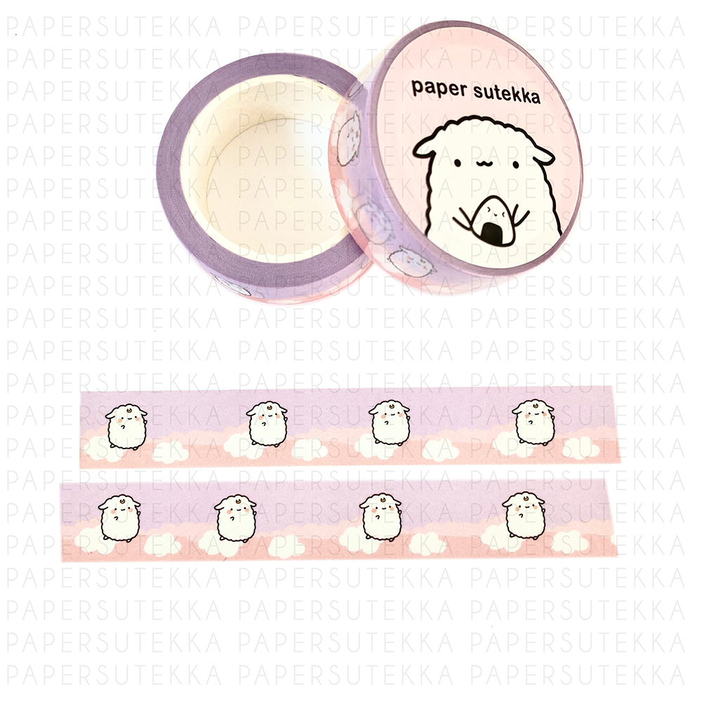 Mika Dreamy Jumping Clouds Washi tape